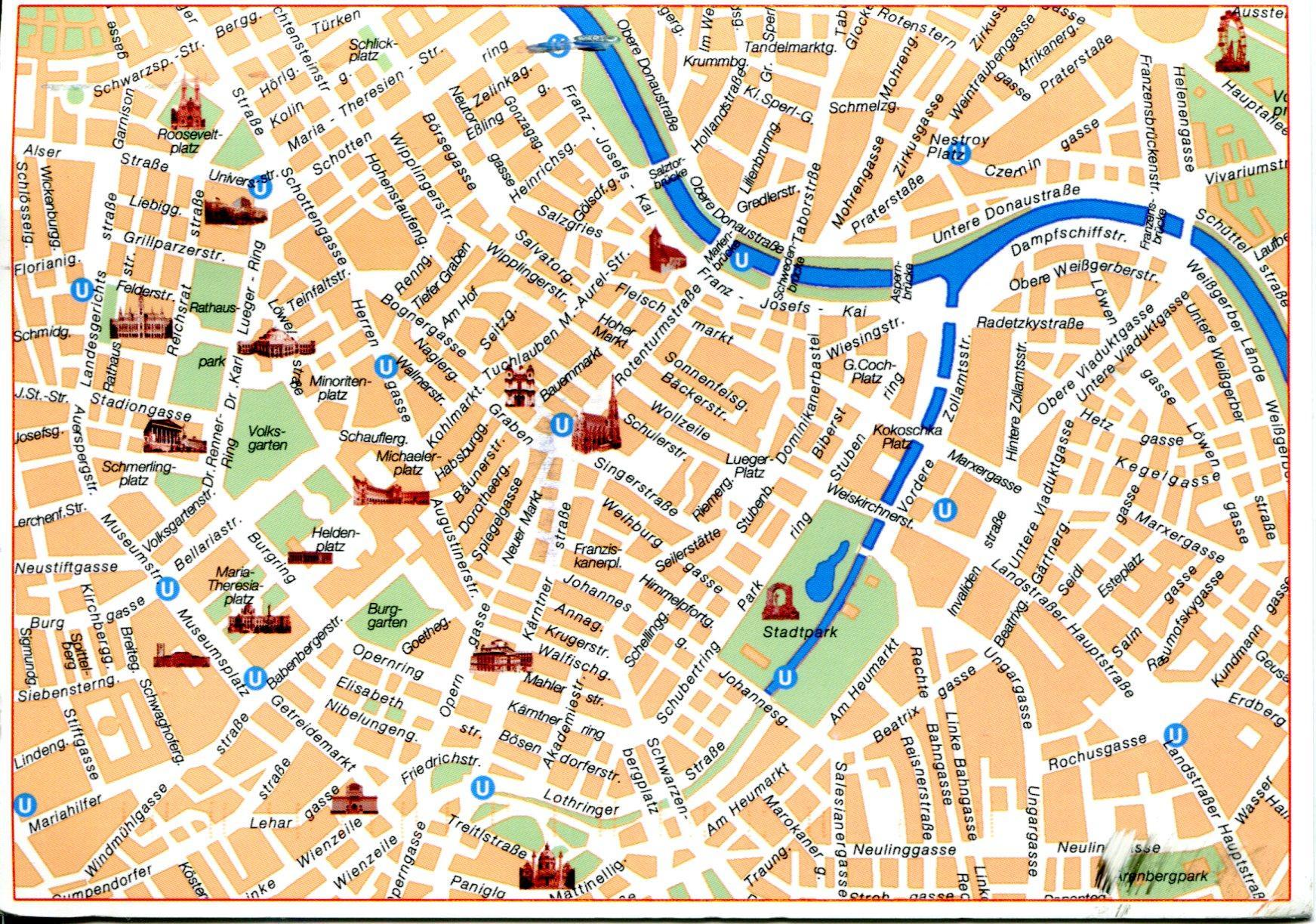 Wien Museen Karte Nach Wien Top Sehenswurdigkeiten Karte Osterreich